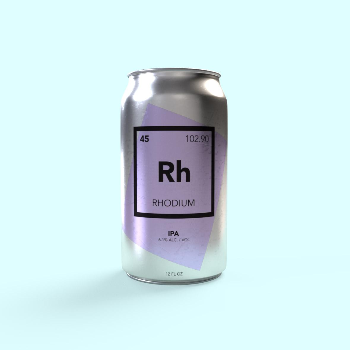 atomic-Rhodium